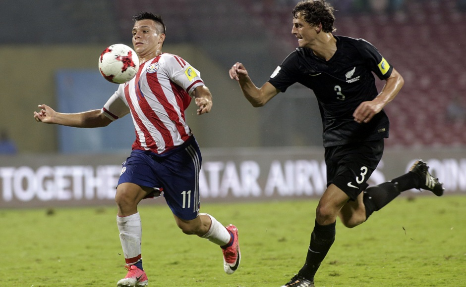 Anibal Vega scored a brace for Paraguay, as the South Americans booked their place in the last 16 of the Under-17 World Cup. AP