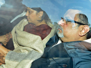File image of Rajesh and Nupur Talwar. Reuters
