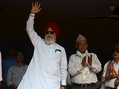 File image of Union minister SS Ahluwalia. AFP