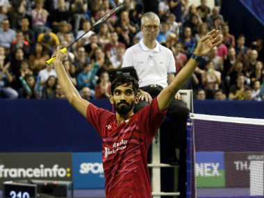 Kidambi Srikanth became the first Indian to win four Superseries titles in a season. AP