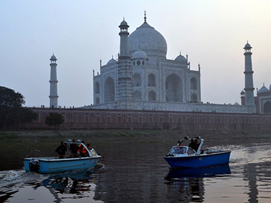 The Taj Mahal. AFP file image