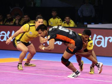 Both Telugu Titans and Bengal Warriors had the chance to win it in the last minute but failed to take their chances. Twitter @ProKabaddi