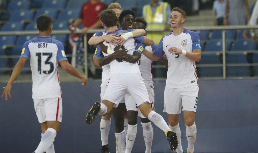 U-17 World Cup: England thrash US to enter semis