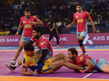 File image of Jaipur Pink Panthers team. Image courtesy: Pro Kabaddi website