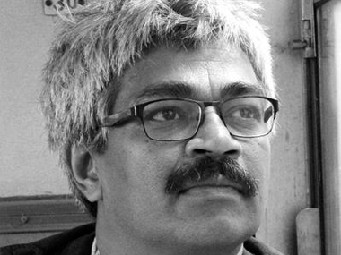 File image of the former BBC journalist Vinod Verma. Twitter @patrakarvinod