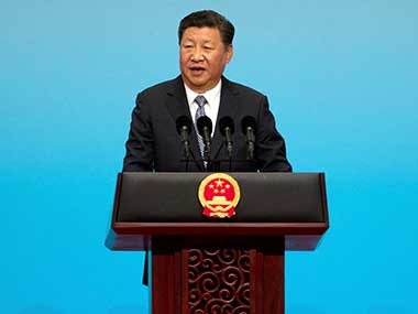 A file image of Chinese president Xi Jinping. AP