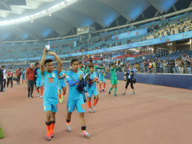 The India U-17 team may not have gone far in the World Cup, but they won hearts. Twitter/ @Media_SAI