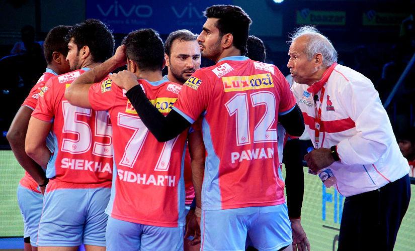 Pro Kabaddi 2017: Gujarat Fortunegiants beat Jaipur Pink Panthers 29-23