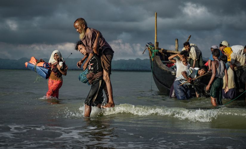 According to one estimate, there are around 40,000 Rohingyas residing in India. Getty Images