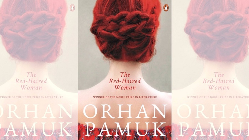Cover for Orhan Pamuk's The Red-Haired Woman