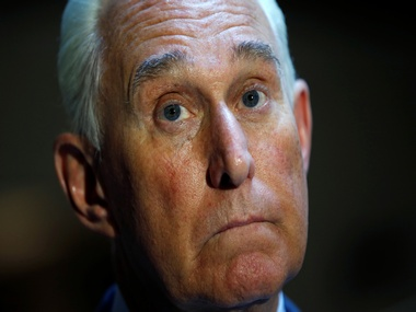 File image of former adviser to Donald Trump Roger Stone. Reuters