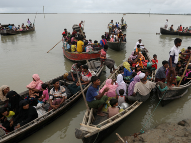 File image of Rohingya migrants. Reuters