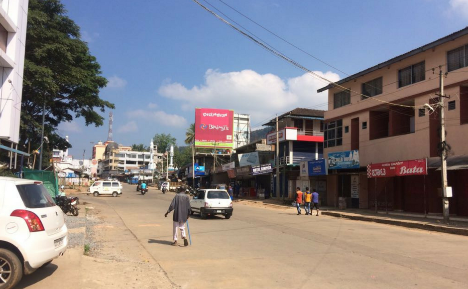 About 4,000 policemen have been deployed across Kodagu, Dakshina Kannada, Uttara Kannada and Udupi districts. Adequate security measures have been taken in Bengaluru as well, said city police commissioner T Suneel Kumar. Virajpet main road wore deserted look on Friday owing to bandh. M Raghuram