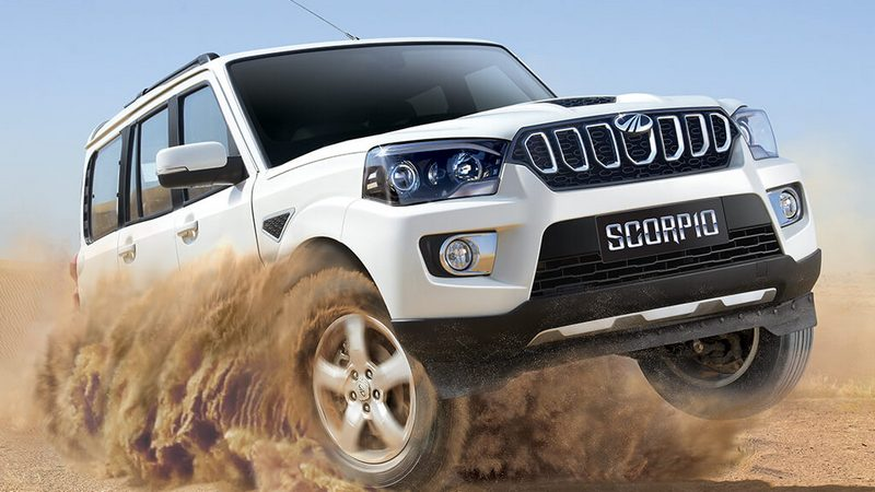 Mahindra Launches Its 2017 Scorpio Facelift At Rs 9.97 lakh