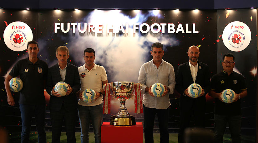The ISL will have 7 new managers this season. ISL/SportzPics
