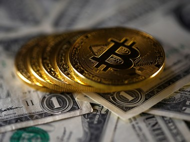 Bitcoin (virtual currency) . Reuters image