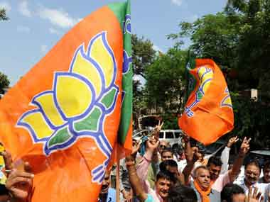 Tough challlenge ahead for the BJP in Gujarat. AFP