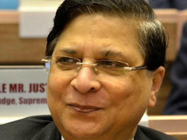 File image of Chief Justice of India Dipak Misra. News18