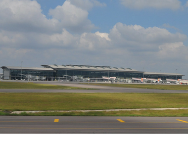 File image of Hyderabad airport. Wikimedia commons.