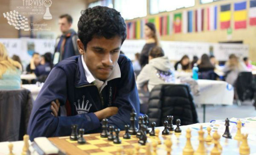 Grand Master Murali Karthikeyan in action. Ruggero Percivaldi