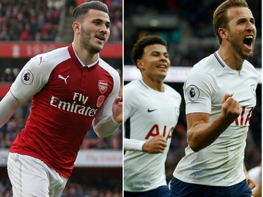 Arsenal and Tottenham Hotspur look to outdo each other for different reasons in north-London derby on Saturday. AFP