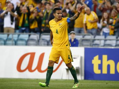 File image of Australia's Tim Cahill. Reuters