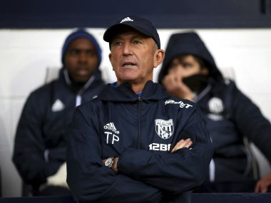 Tony Pulis' West Brom won just 2 games in their last 21 Premier League matches. AP