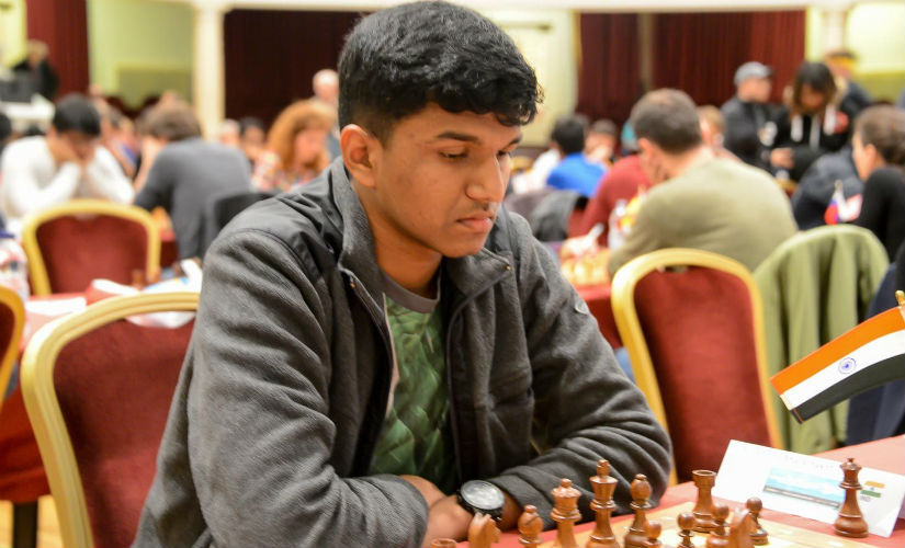 After three rounds, Harsha Bharathakoti was the only Indian among the tournament leaders. John Saunders