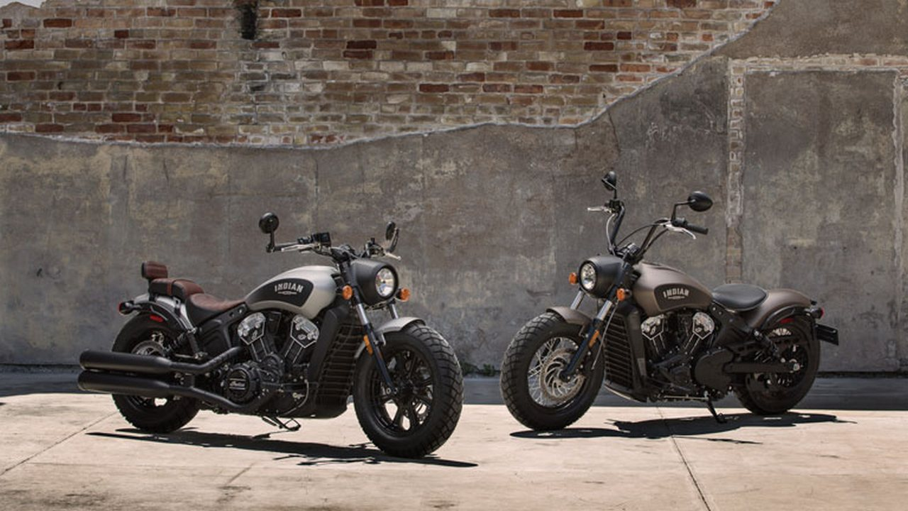 Indian Scout Bobber. Indian Motorcycle
