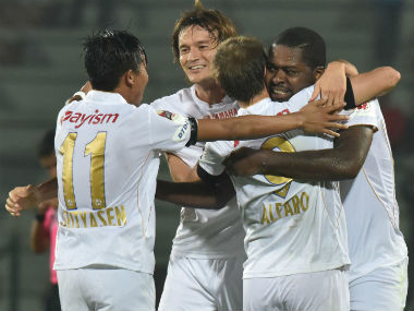 'Caution' is the buzzword in the NorthEast United camp ahead of their clash against Jamshedpur FC. AFP
