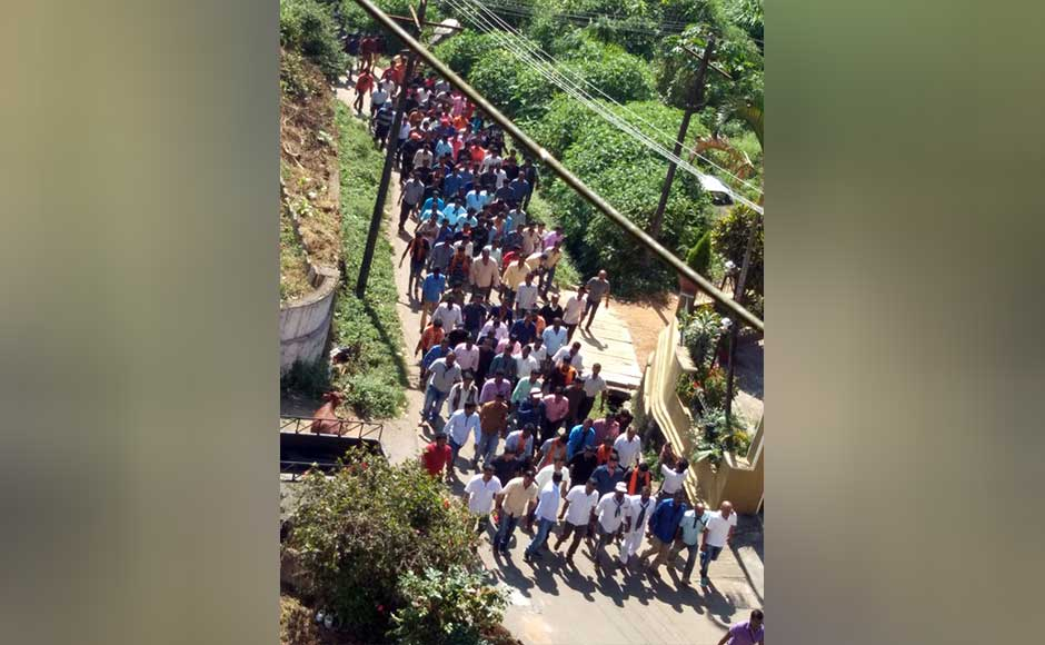 """The BJP sees Tipu as a """"religious bigot"""" and a """"brutal killer"""", while some Kannada outfits call him anti-Kannada, citing that he had promoted Persian at the cost of the local language. BJP and Sangh parivar workers staged protest in Madikeri against celebration of Tipu jayanti. M Raghuram"""