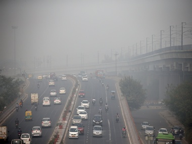 File image of pollution in Delhi. Reuters