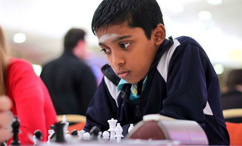 Wonderkid R Praggnanandhaa is very clos eto a Grand Master title. Amruta Mokal