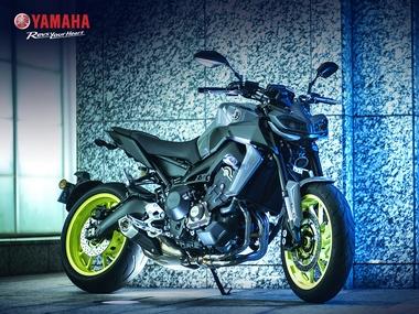 2017 Yamaha MT-09.