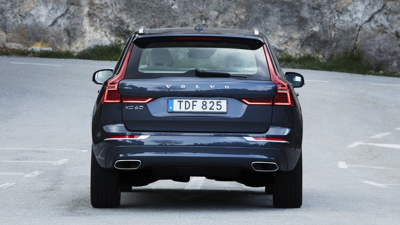 The Volvo XC60 will also be offered with air suspension on all four corners that enables the car to alter damping and ride height if needed. Image: Volvo
