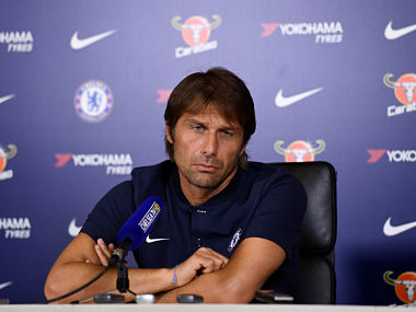 Chelsea manager Antonio Conte during a press conference. Reuters