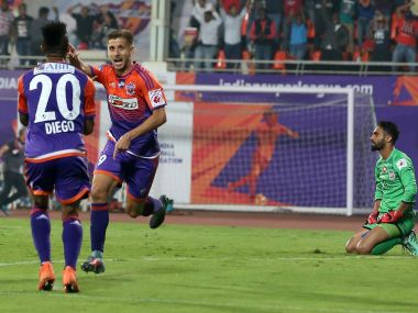 FC Pune City will be looking to alter their no-win record against Chennaiyin FC. Image courtesy: ISL