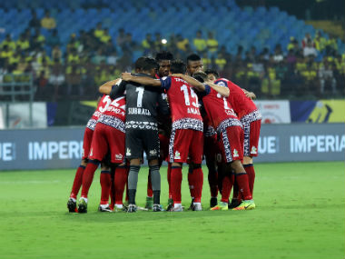 File image of Jamshedpur FC players. ISL