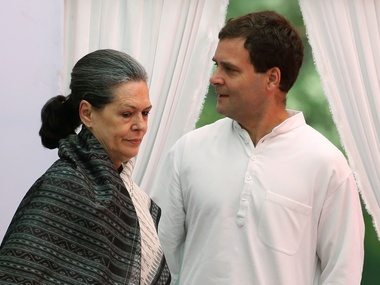 File image of Rahul and Sonia Gandhi. Reuters