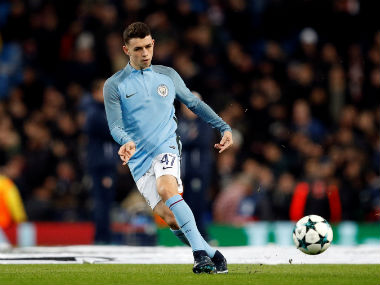 File photo of Manchester City's Phil Foden. Reuters