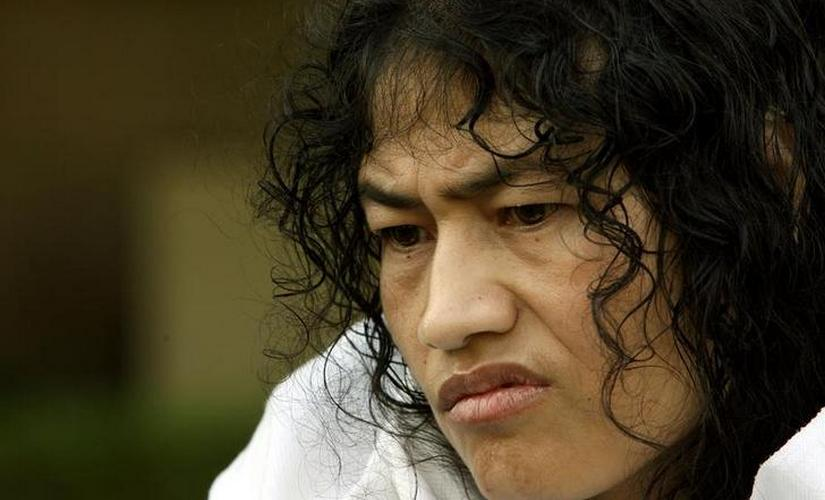 Irom Sharmila ended her fast in 2017. Image from Reuters