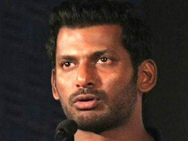File image of actor Vishal. PTI