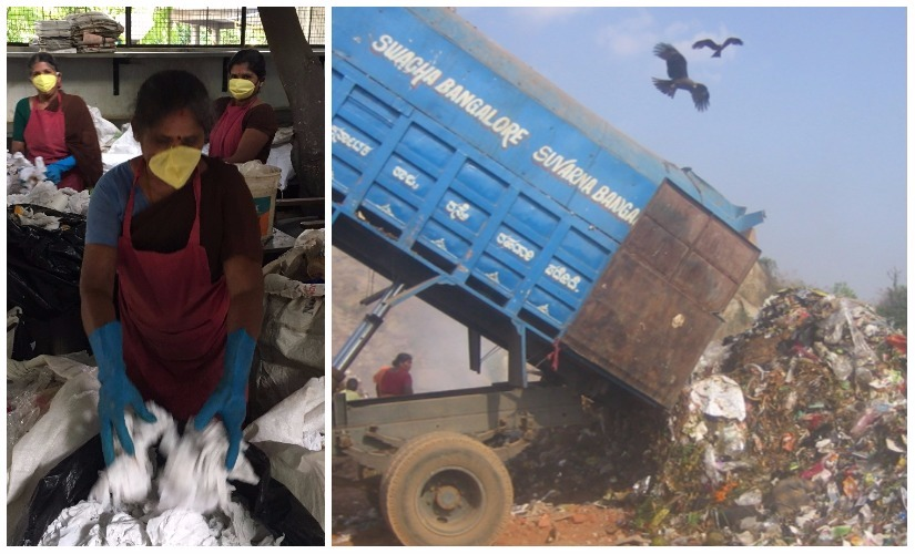(R) A landfill in Bengaluru. Photos courtesy the writer