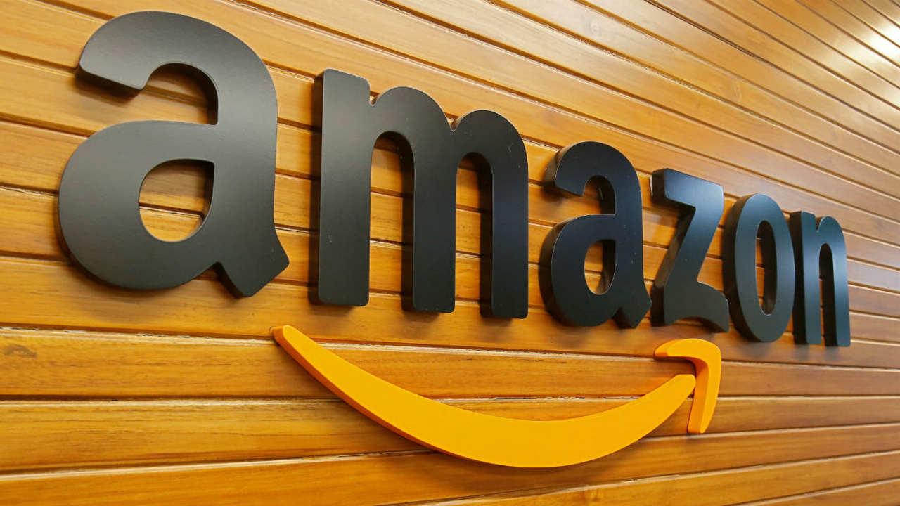 Amazon logo. Image: Reuters.