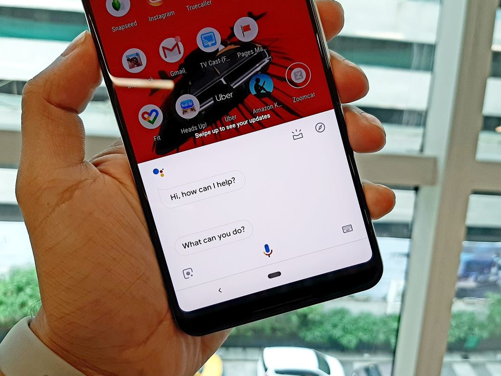 Google Assistant on Pixel 3