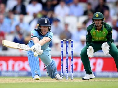 England thumped South Africa by 104 runs in the World Cup last year. Twitter @ICC
