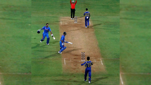 India defeated Sri Lanka by six wickets in the final of the 2011 World Cup in Mumbai to register their second World Cup victory. Reuters