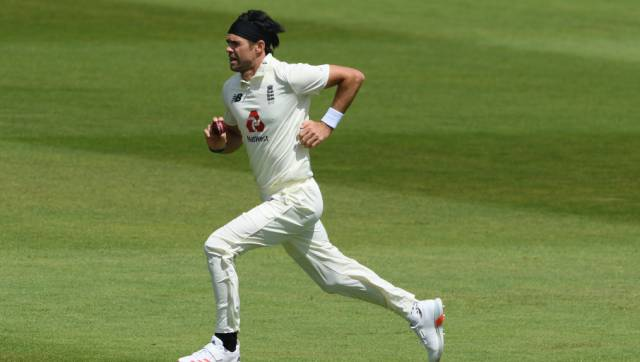 File image of James Anderson. AP