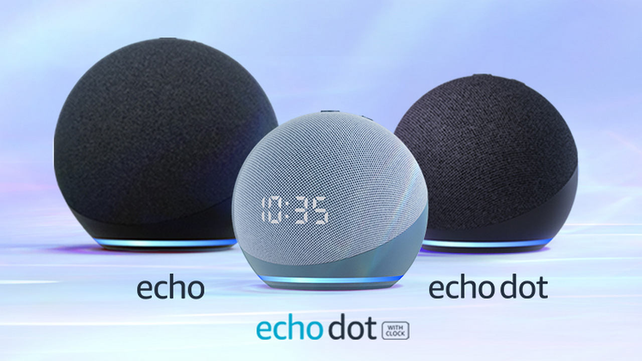 Newly launched Echo devices.