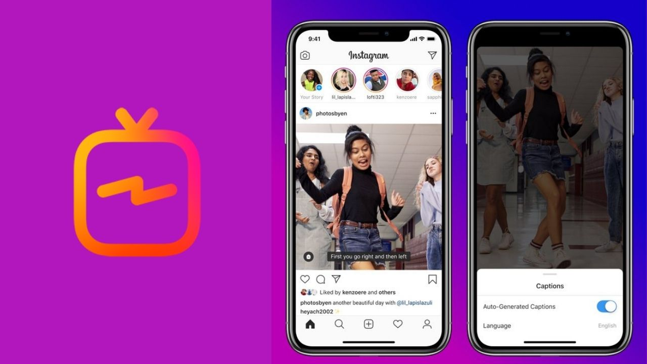 IGTV to get closed captions starting 16 September.